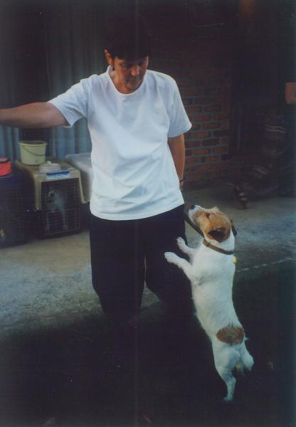 Marg Harwood with Koolawong Nutmey