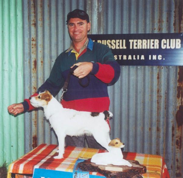 National Show Korumburra 2001 - Scott Parker & Huntingdowns Maggie